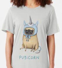Pugicorn - Fawn Slim Fit T-Shirt
