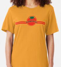 Tomato Convenience Store Logo Slim Fit T-Shirt