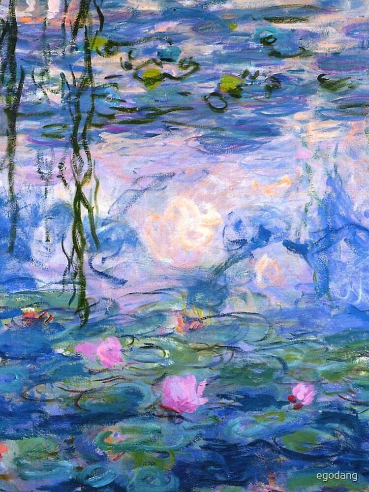 Water Lilies - Claude Monet by egodang