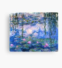 Water Lilies - Claude Monet Canvas Print
