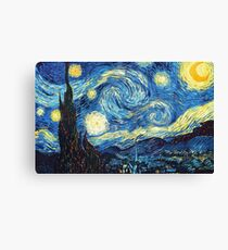 Starry Night - Van Gogh Canvas Print