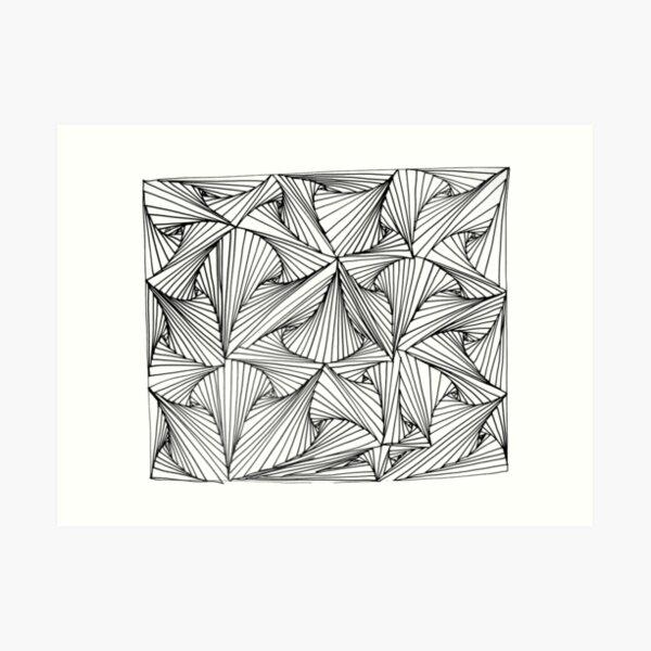 CATTLE CLAUSTROPHOBIA.  Art Print