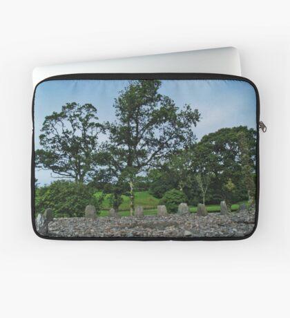 Temple Wood Stone Circle Laptop Sleeve