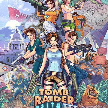 Tomb Raider III - 20 Years of Tomb Raider by KEITHBYRNEFX