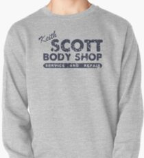 Keith Scott Body Shop Weathered Hoodie – One Tree Hill, Lucas Scott Pullover