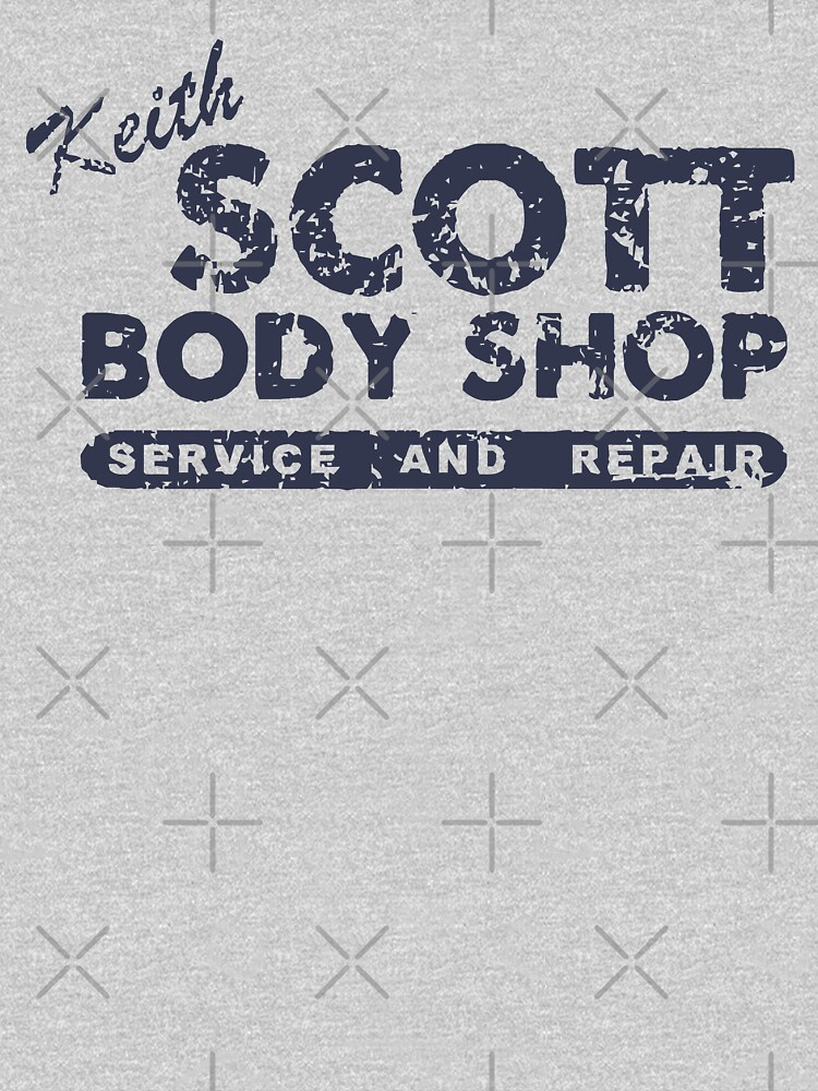 Keith Scott Body Shop Weathered Hoodie  One Tree Hill, Lucas Scott | Unisex T-Shirt