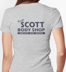 Keith Scott Body Shop Hoodie – One Tree Hill, Lucas Scott T-Shirt