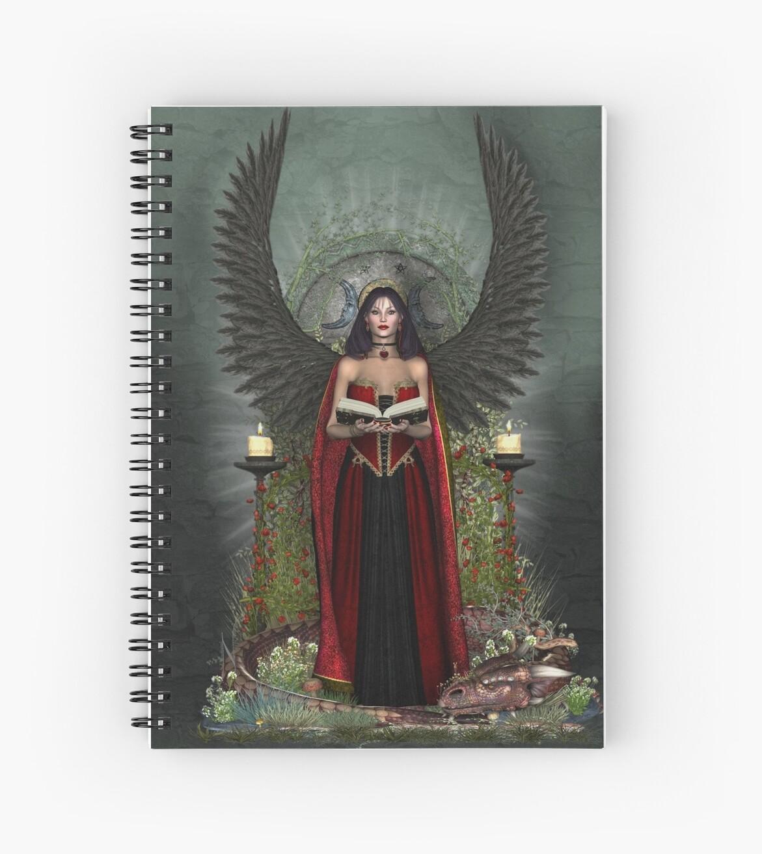 Dark Angel Protector by magicalartz