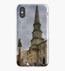 Mercat Cross and Guildhall iPhone Case/Skin