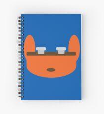 Jak & Daxter - Daxter - Minimal Design Spiral Notebook