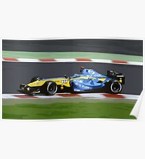 Alonso - Renault Poster