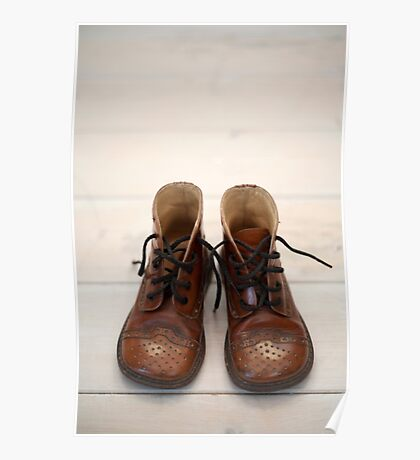 Baby Brogue Boots Poster