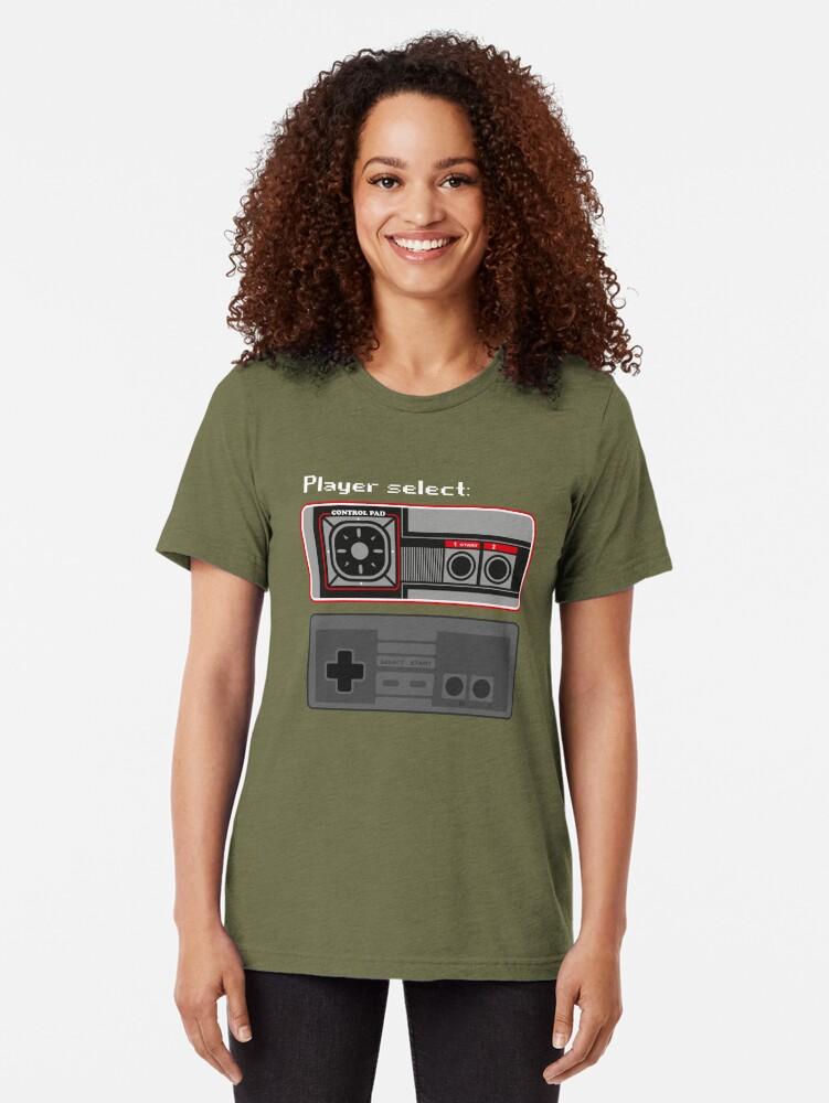 Vista alternativa de Camiseta de tejido mixto Select player 01