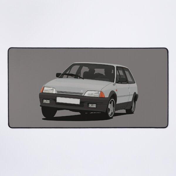 Citroen AX - Dark light grey Desk Mat