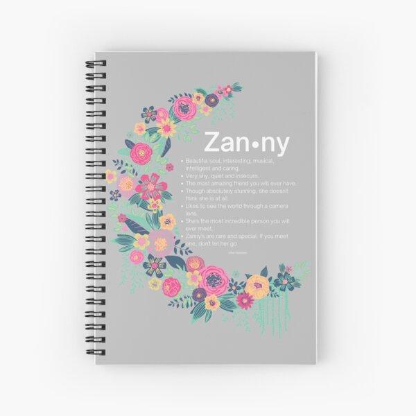 Zanny Spiral Notebook