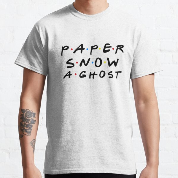 PAPER SNOW A GHOST Classic T-Shirt