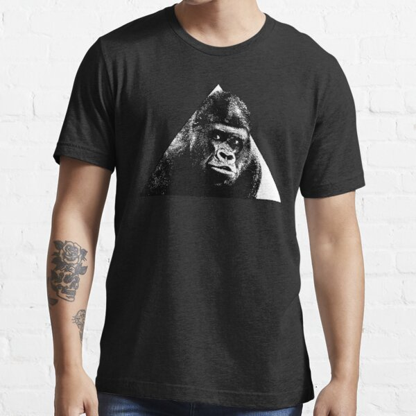 GORILLA in the triangle // Ink Tattoo Style Design Essential T-Shirt