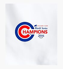 Chicago Cubs Champions Photographic Print
