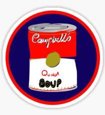 Pop Art Soup Series - Quinoa  Sticker