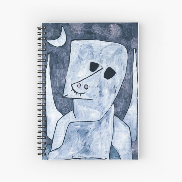 Look up to the moon Spiral Notebook