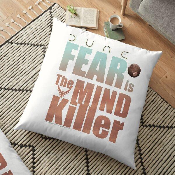 Dune 2020- Fear is the mind-killer Floor Pillow
