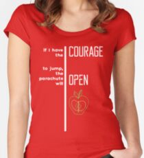 Bic Macintosh Wisdom - Quote Women's Fitted Scoop T-Shirt