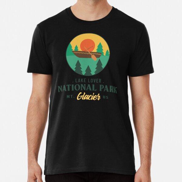 Glacier National Park Premium T-Shirt
