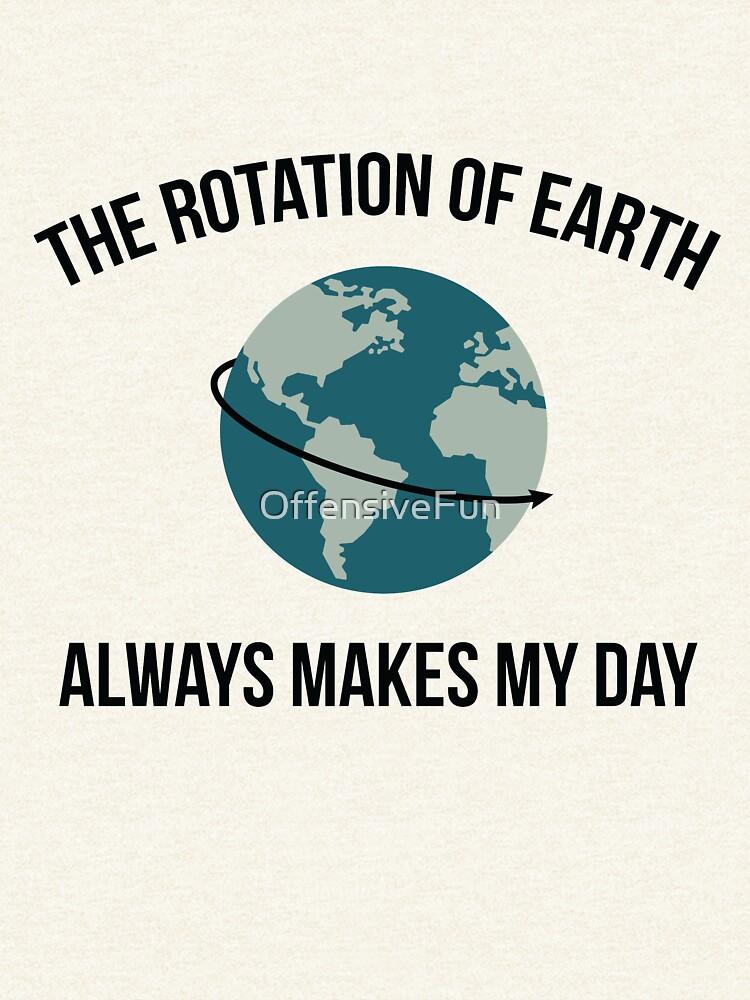 Die Rotation der Erde von OffensiveFun