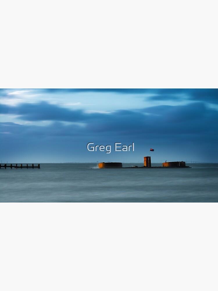 HMVS Cerberus -  Half Moon Bay by GregEarl