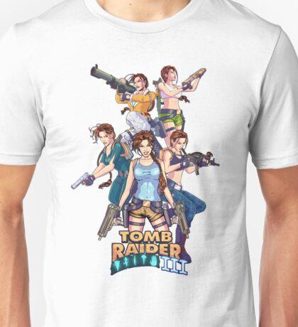 Tomb Raider III - 20 Years of Tomb Raider Unisex T-Shirt