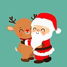A Christmas Hug by mruburu