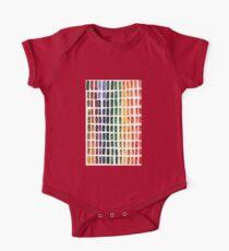 Watercolor Rainbow Pallete Kids Clothes
