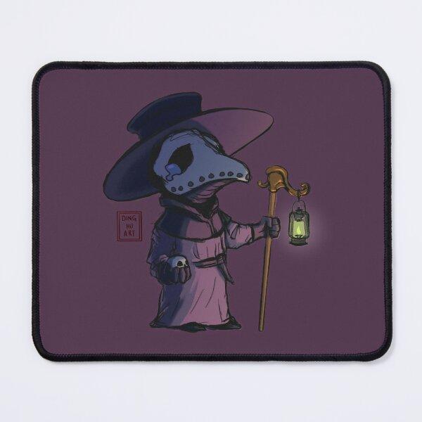 cute sad plague doctor Mouse Pad