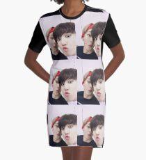 BTS VKOOK T-Shirt Kleid