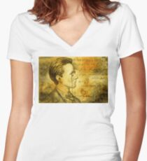 Fantastic Max Planck Women's Fitted V-Neck T-Shirt