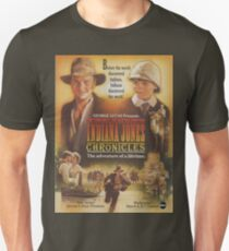 young Indiana Jones chronicles poster T-Shirt