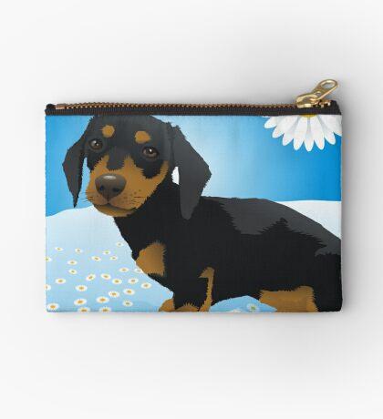 Daisy dachshund Studio Pouch