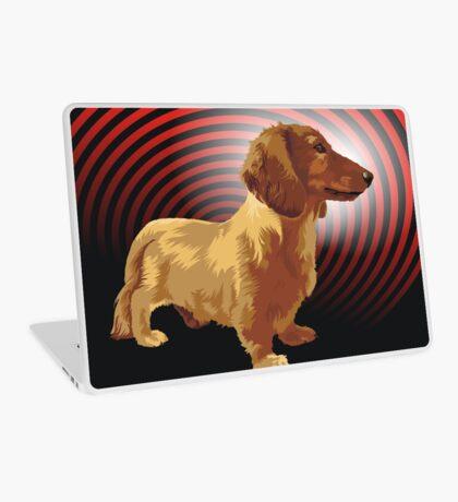George dachshund Laptop Skin