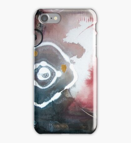 When Darkness Asked the Light to Dance iPhone Case/Skin