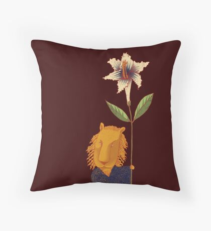 Guardian of Dreams Throw Pillow