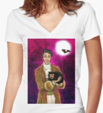 Vampstyle (What We Do In The Shadows) Women's Fitted V-Neck T-Shirt