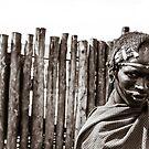 Maasai Man Ngorongoro Conservation Area Tanzania by Amyn Nasser