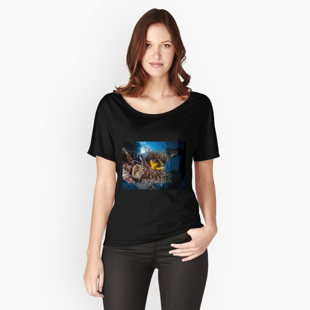 Under water photography of a Red Sea Relaxed Fit T-Shirt