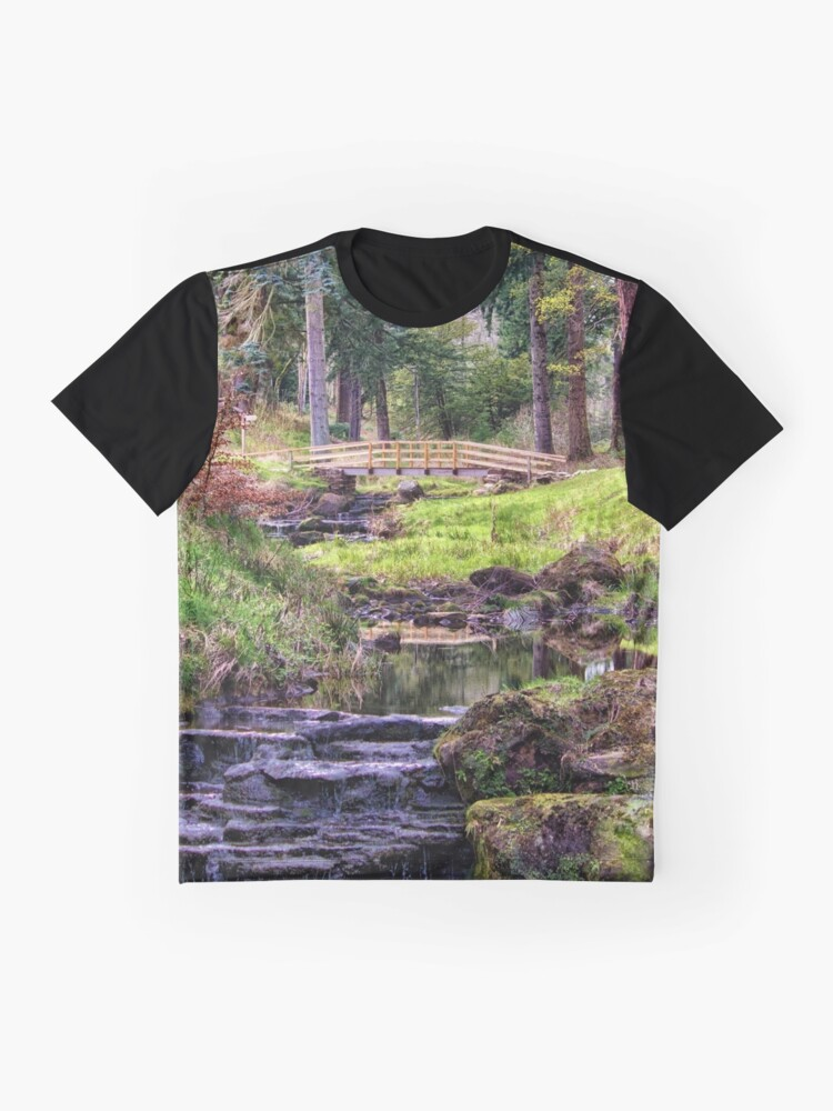 Alternate view of Life Flows Graphic T-Shirt