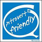 Introvert Friendly - Quiet Place - Sticker by IntrovertInside