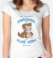Aloe Vera for Pets Women's Fitted Scoop T-Shirt