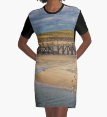The Meeting Place Graphic T-Shirt Dress