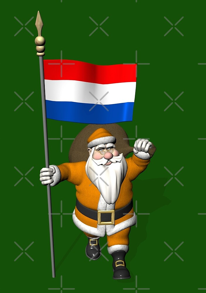 Santa Claus Visiting The Netherlands by Mythos57