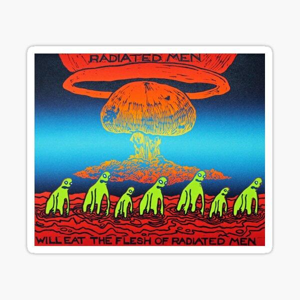 Radiated Men Sticker