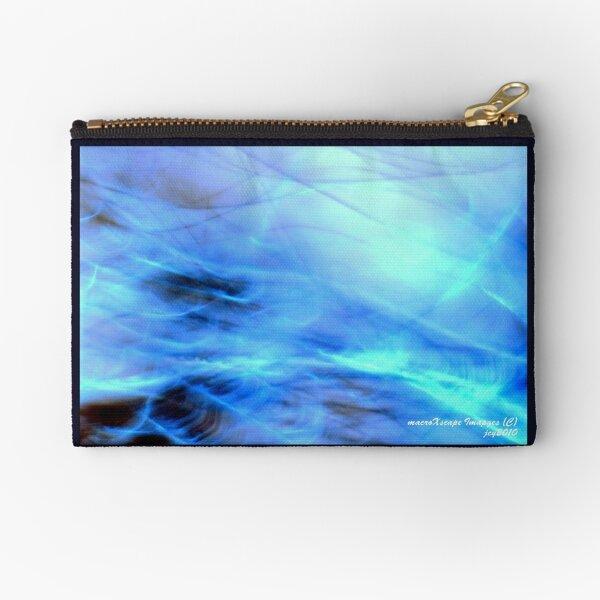 Rough Macro Sea World Zipper Pouch
